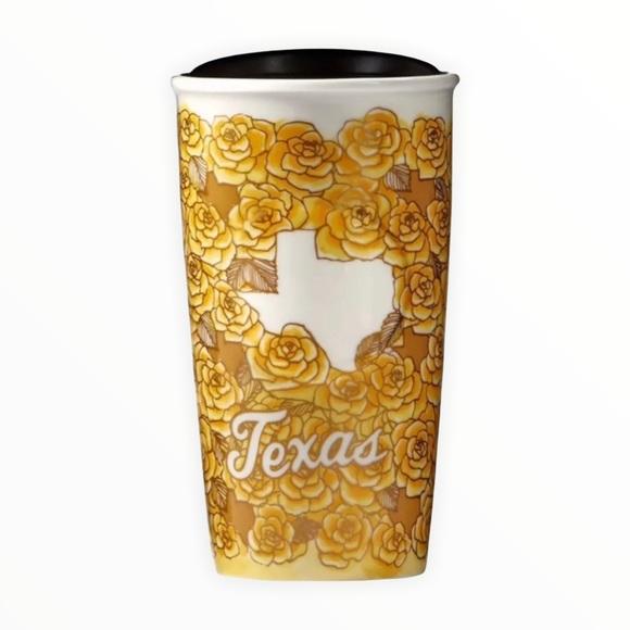 Starbucks TEXAS 2016 ceramic travel mug NEW